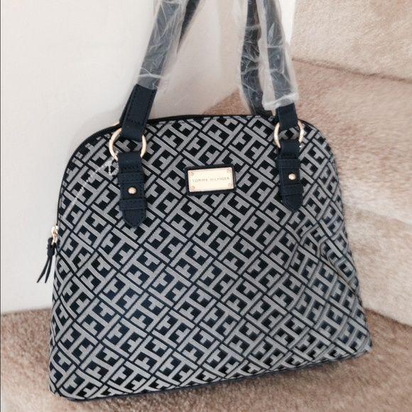 Tommy Hilfiger Dome Shaped Handbag Cute and adorable designer handbag ! Tommy Hilfiger Bags Shoulder Bags