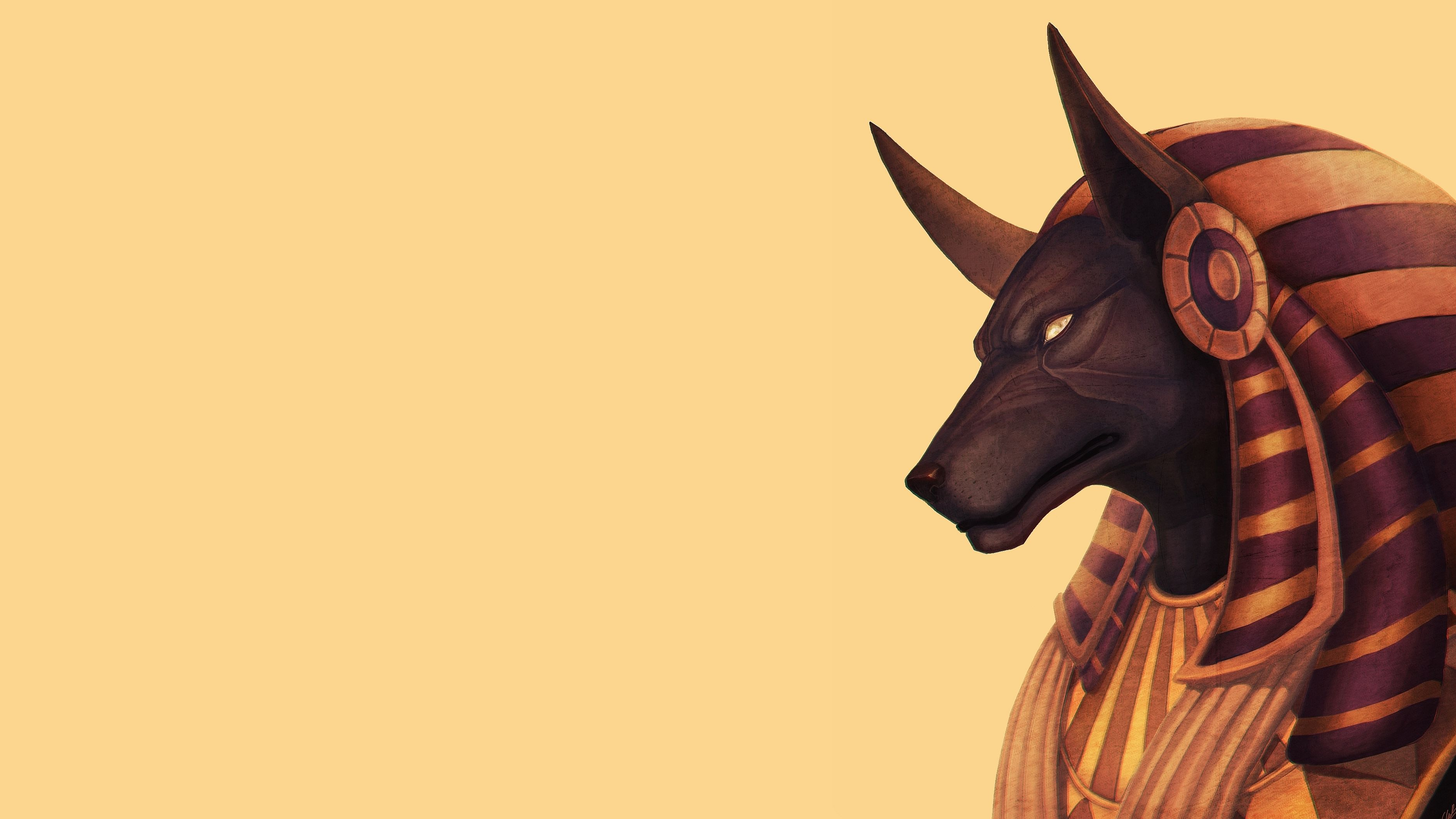 how to say anubis in egyptian