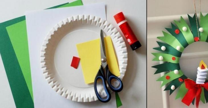 Bricolez une magnifique couronne de Noël avec les enfants, à partir d'une assiette en carton! #bricolagemaison,materielbricolage,bricolagefacile,bricolagedecoration,bricolageàdomicile,bricolagejardin,petitbricolage,aidebricolage,idéebricolage,outillagebricolage,conseilbricolage,bricolagedecoration #deconoelmaternelle Bricolez une magnifique couronne de Noël avec les enfants, à partir d'une assiette en carton! #bricolagemaison,materielbricolage,bricolagefacile,bricolagedecoration,bricolage� #deconoelmaternelle