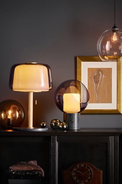 Ikea Deutschland Der Sanfte Schimmer Der Evedal Und Fado Leuchten Wirkt Wahre Wunder Fur Die Stimmung Im Raum Dank Grey Table Lamps Lamp Pendant Lamp Shade