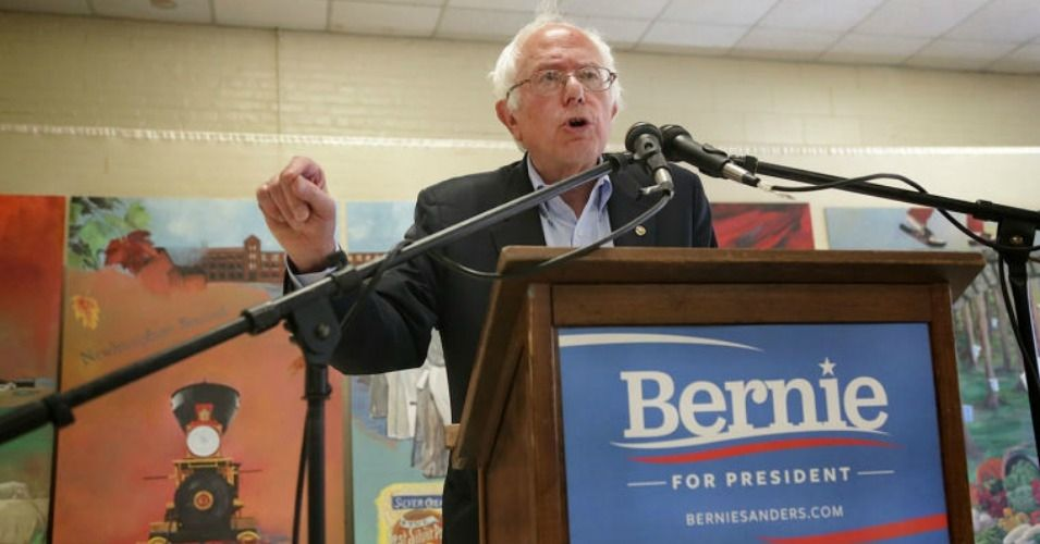 """Call for 'Political Revolution' Is About Mass Movement, Not Me.  A Swedish reporter asked him a question, and Mr. Sanders turned the tables and began interviewing her. He asked her what it cost for people to get health care in Sweden. """"Like nothing,"""" Ms. Naslund said. And what does it cost to go to college? Mr. Sanders asked.  """"Nothing,"""" she said.  Child care? """"It's almost free,"""" she said.  """"That's pretty good!"""" Mr. Sanders exclaimed."""