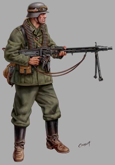 image result for german soldier zbrush model mg 32 ww2 pinterest