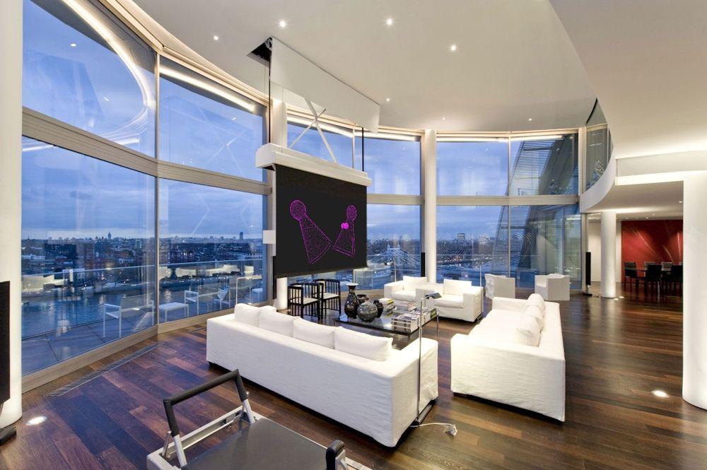 Berühmt Extravagantes Penthouse Design Zeitgenössisch ...