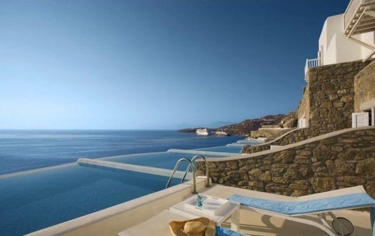 Photos The World S Best Hotel Pools Mykonos Hotels Greece