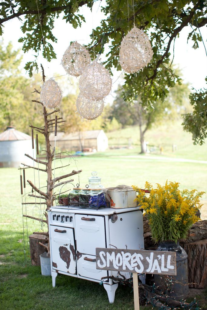 cute for an outdoor vintage wedding showerreception