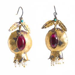 Gypsy Global Chic Pomegranate Earrings