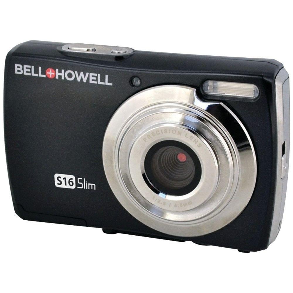 Bell+howell 16.0 Megapixel S16 Slim Digital Camera (black)