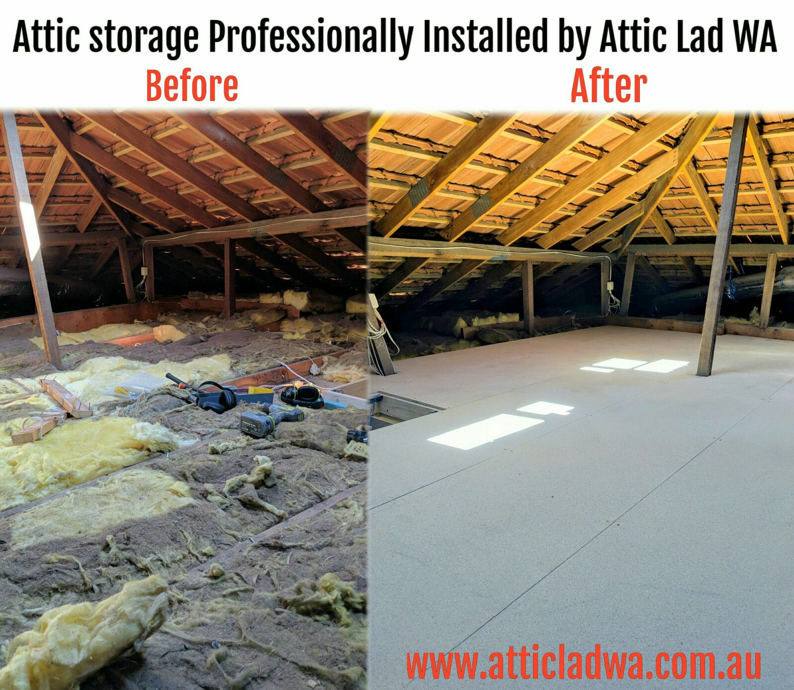 Perth Attic Storage By Attic Lad Wa Looking For More Storage Space At Your Perth Home Look Up The Area In Your Attic Remodel Attic Design Attic Apartment