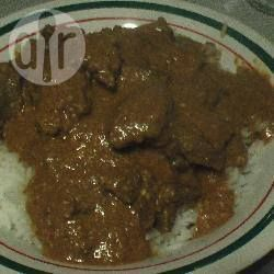 Korma met geitenvlees