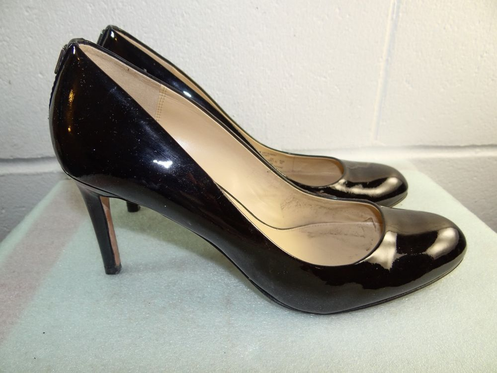 6b136f7891 COACH 'Rosey' Black Patent Leather Pump Women Size 10B #fashion #clothing # shoes #accessories #womensshoes #heels (ebay link)