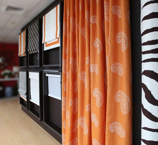 Services Showroom Design Shop Interiors Curtain Designs