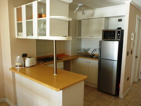 cocina americana - Buscar con Google | Muebles inteligentes | Small ...