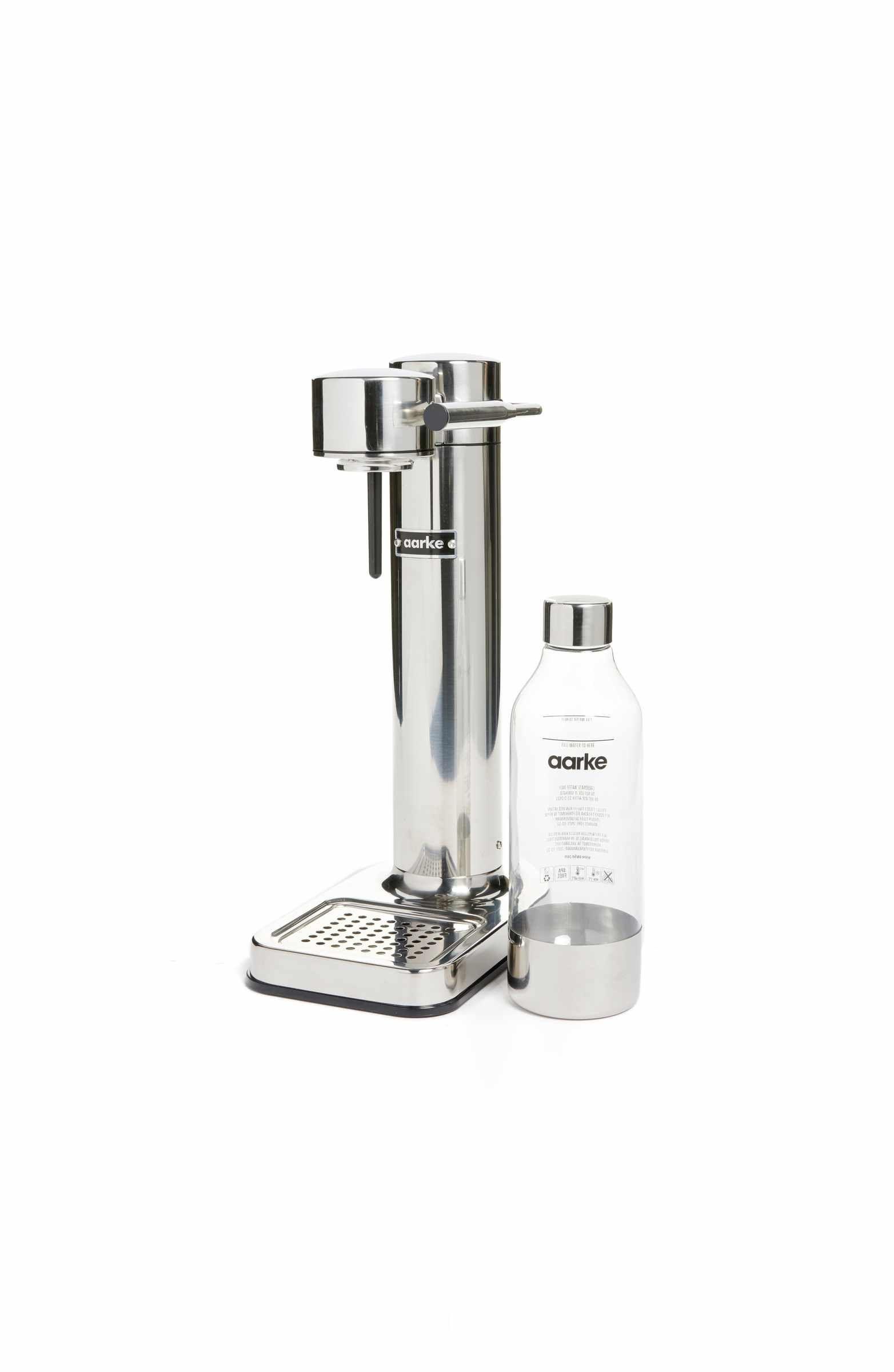 Aarke stainless steel sparkling water maker sparkling