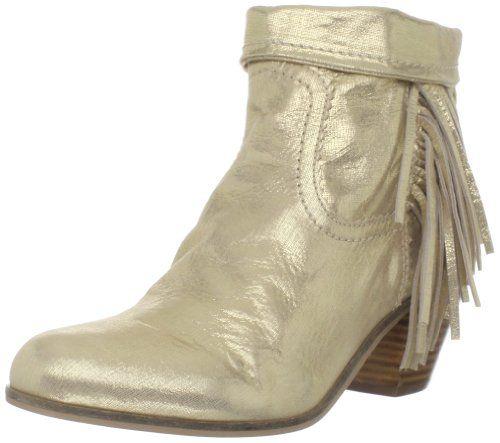c214e48c2f75 Amazon.com  Sam Edelman Women s Louie Ankle Fringe Boot  Sam Edelman  Shoes