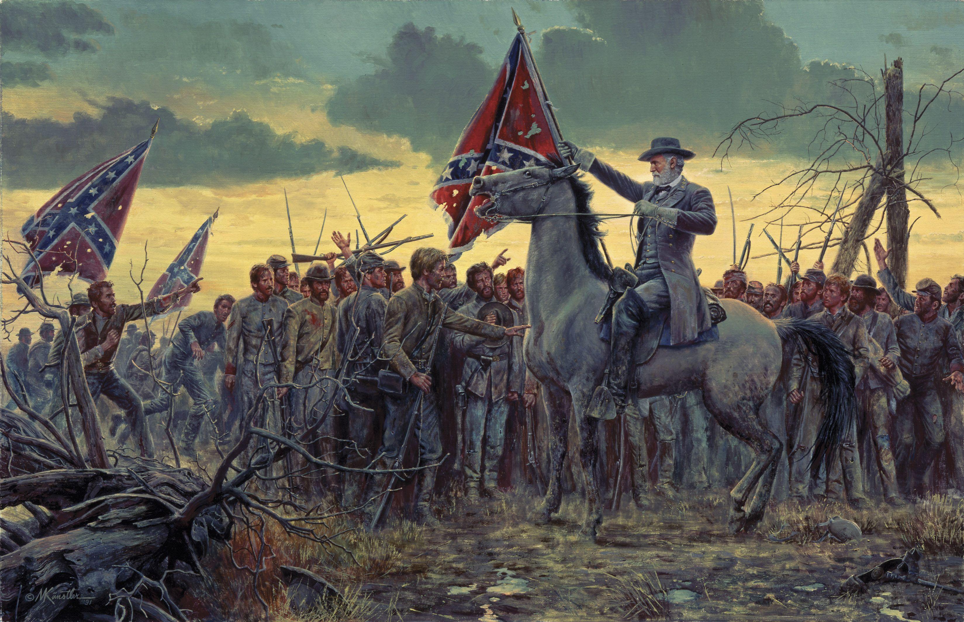 american-civil-war-graphic-images « heavensgraphix |American Civil War Battle Paintings