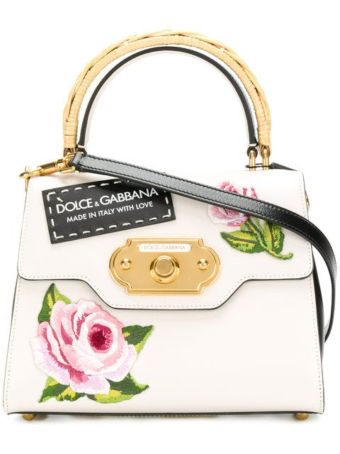 Dolce & Gabbana Welcome rose print tote Particular Discount Very Cheap Sale Online Cheap Sale 2018 Free Shipping Best Sale 3SMUnL9mV
