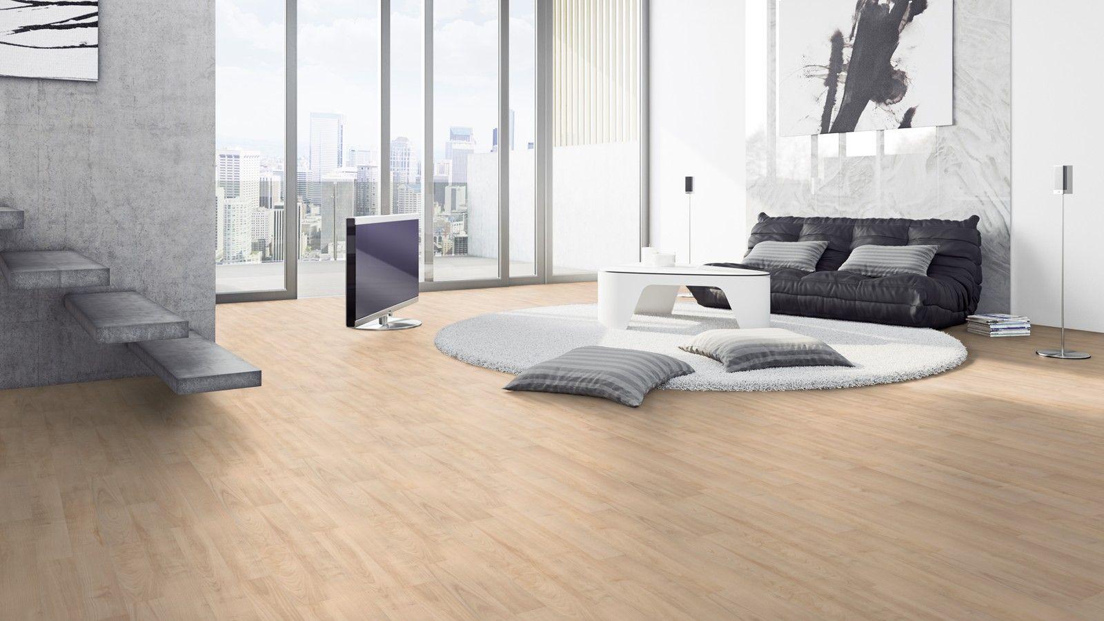 £22.50 sq m Avatara Maple Sand Beige ManMade Wood Floor