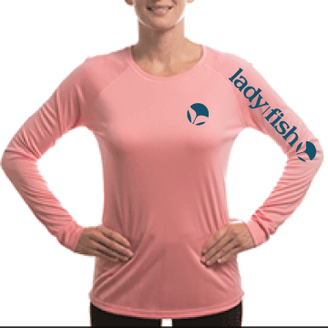 UPF  50 Ladies Longsleeve, Suncreen protection fishing shirt ...