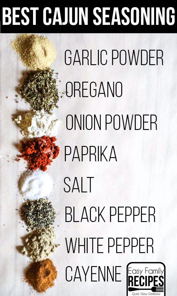 Absolute BEST Cajun Seasoning · Easy Family Recipe