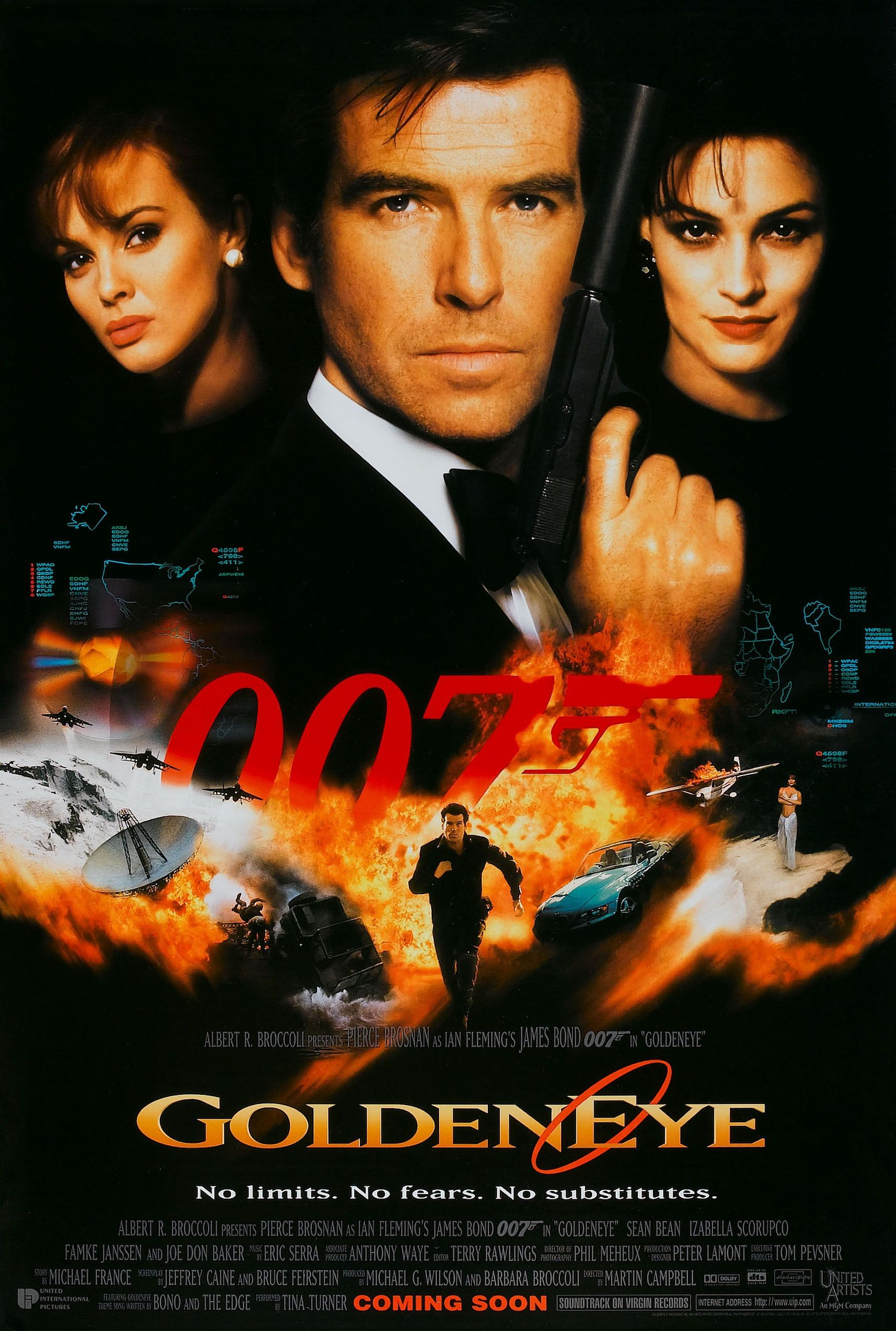 007之黄金眼 新铁金刚之金眼睛 黄金眼 ,