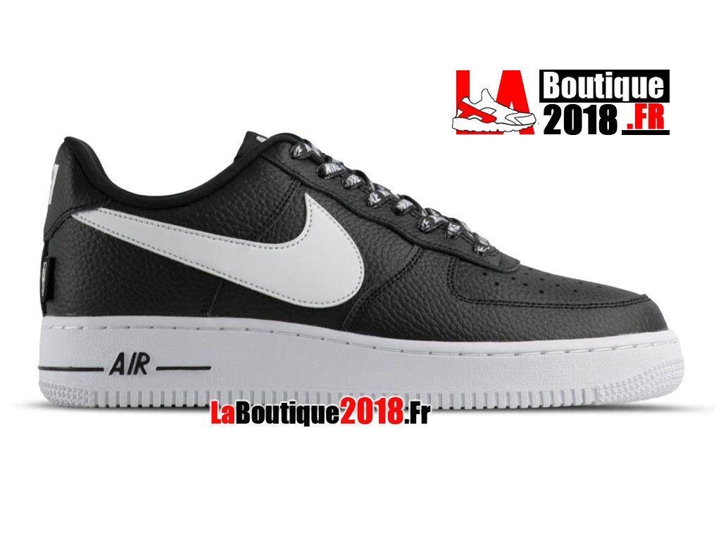 sports shoes 8ce75 e9d7a Nike Wmns Air Force 1 High 07 LV8 Noir Blanc 806403-404 Chaussure Nike