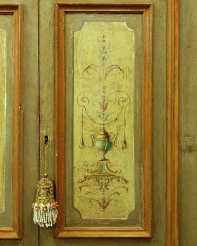 Riproduzione di una porta dipinta del 39 600 realizzata in - Porte antiche dipinte ...