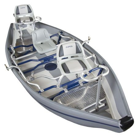 NRS Freestone Drifter Boat - 14', Low Profile Inflatable