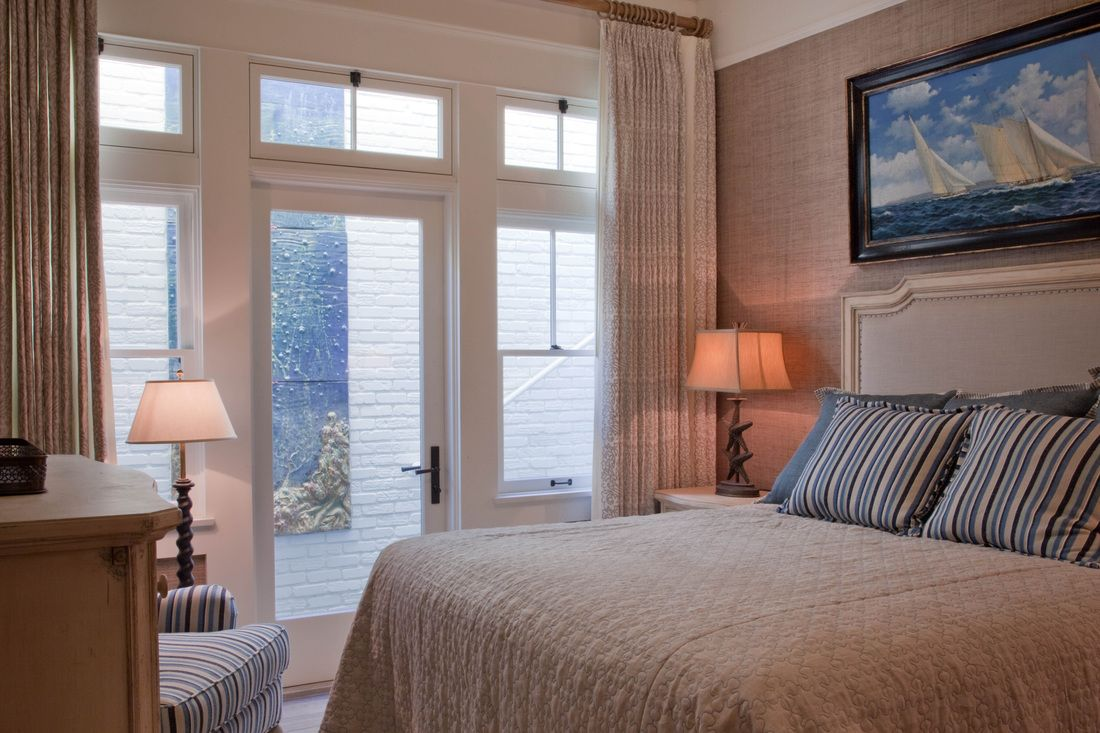 Master bedroom door design   Coronado Beach House  Kim Grant Design   Coronado Beach