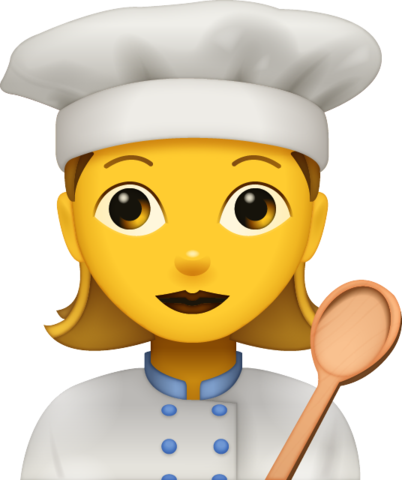 Cooking Woman Emoji Free Download All Emojis Emoji Island