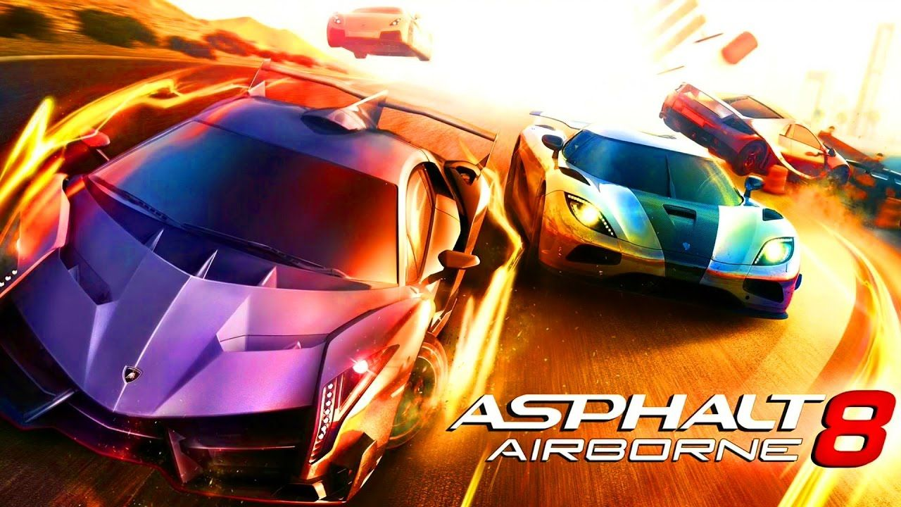asphalt 8 airborne racing car game cartoon for kids 2