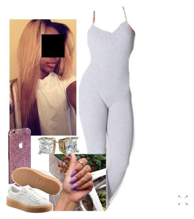 """""""✨"""" by newtrillvibes ❤ liked on Polyvore featuring Puma"""