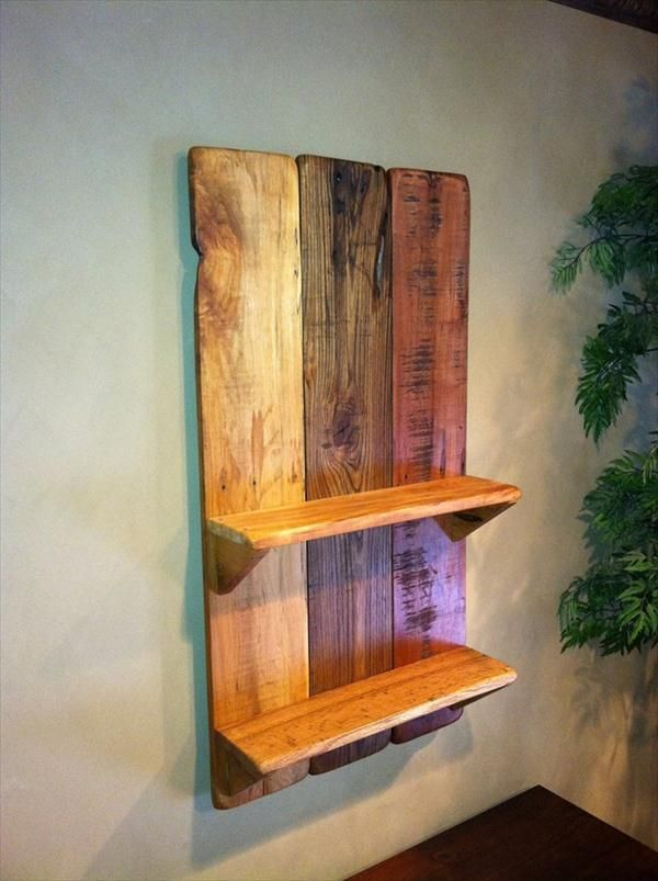 Pallet Wall Hanging diy pallet wall hanging picture shelf | pallet wall hangings