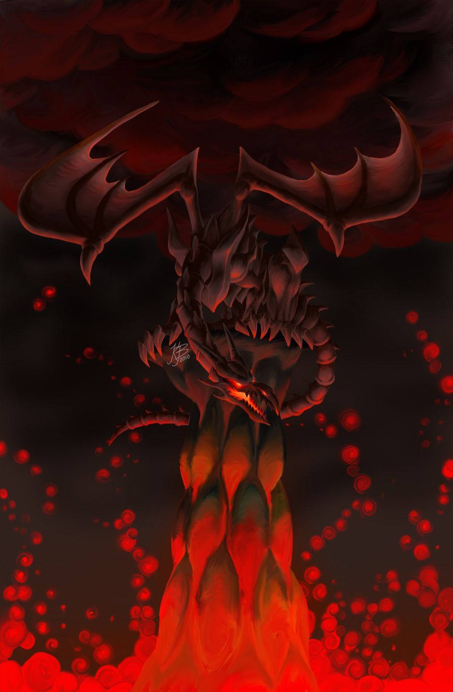Red Eyes Black Dragon By Evilnightdragon Deviantart Com On
