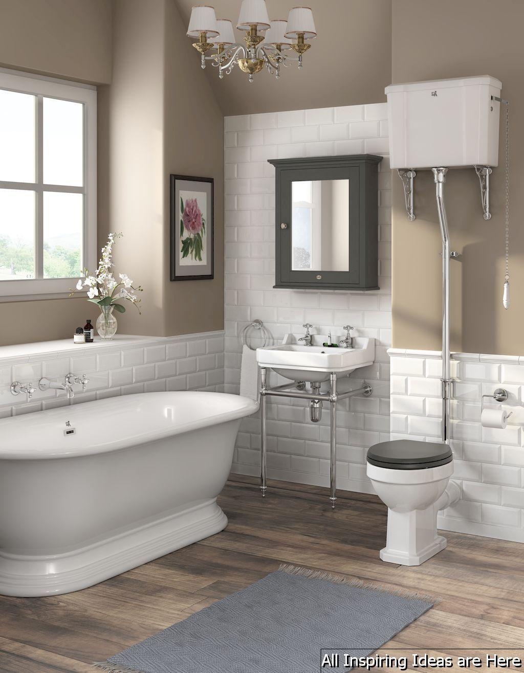 Awesome 40 Minimalist Modern Farmhouse Small Bathroom