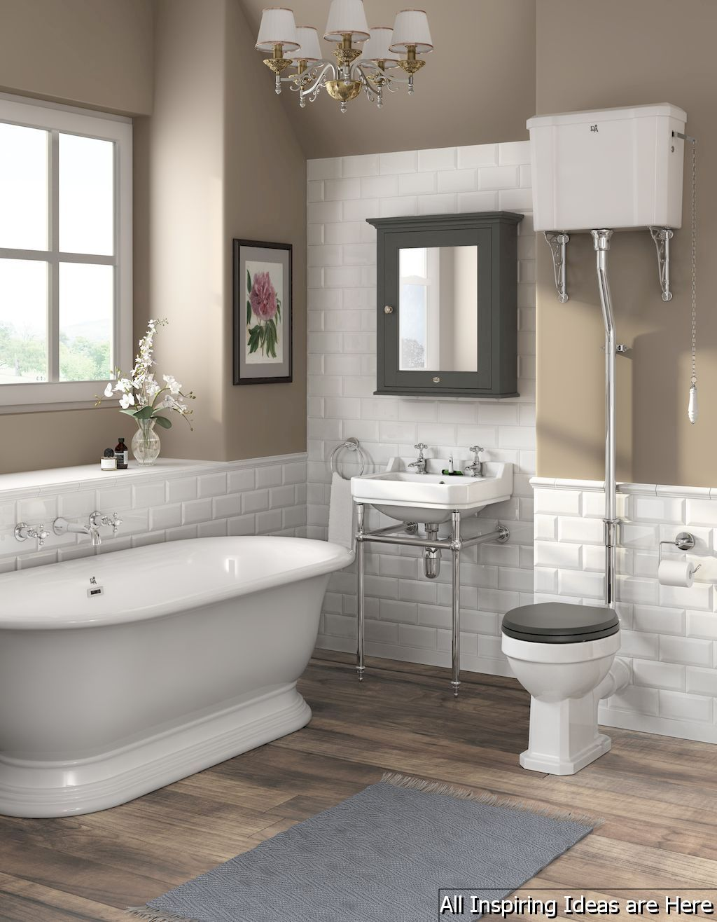 40 Minimalist Modern Farmhouse Small Bathroom Decor