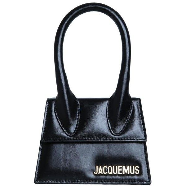 Jacquemus Le Sac Chiquito Leather Bag 561 Liked On Polyvore Featuring Bags Handbags Black Summer Mini