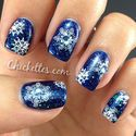 Polish Days Manicure – Snowflakes n' Glitter
