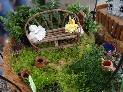 Fairy Garden From Yonie S Greenhaus Ideas Of Things To Put In The