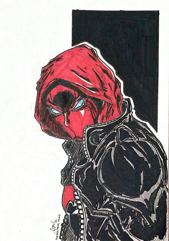 Jason Todd The Red Hood Dibujos Capucha Roja Heroe