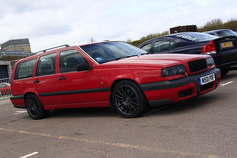 Volvo 850 T5 Estate Red Hall Of Fame Wagon Volvo 850