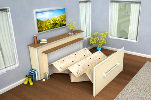 Diy Murphy Bed Ideas 13 DIY Murphy Bed Projects For Every Budget