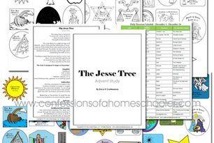The Jesse Tree Free Printable