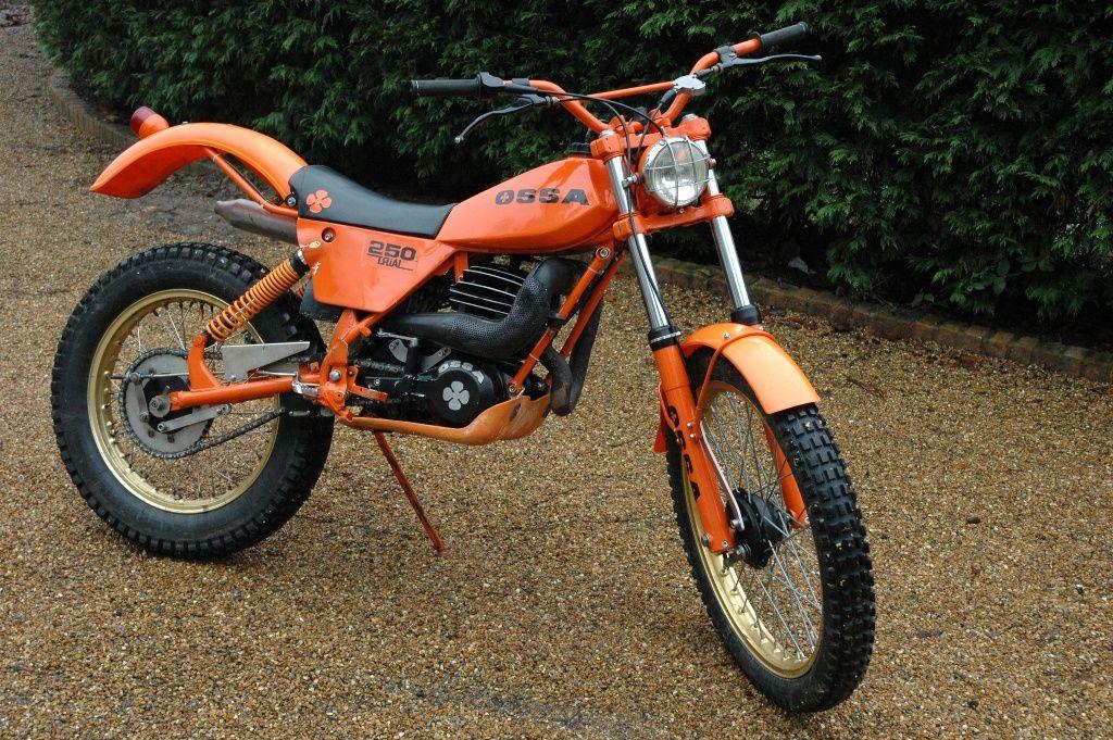 ossa tr 80 250 trials bike | two wheels | pinterest | trial bike