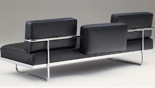 bauhaus le corbusier lc5 f canape furniture styles 20th century rh pinterest com
