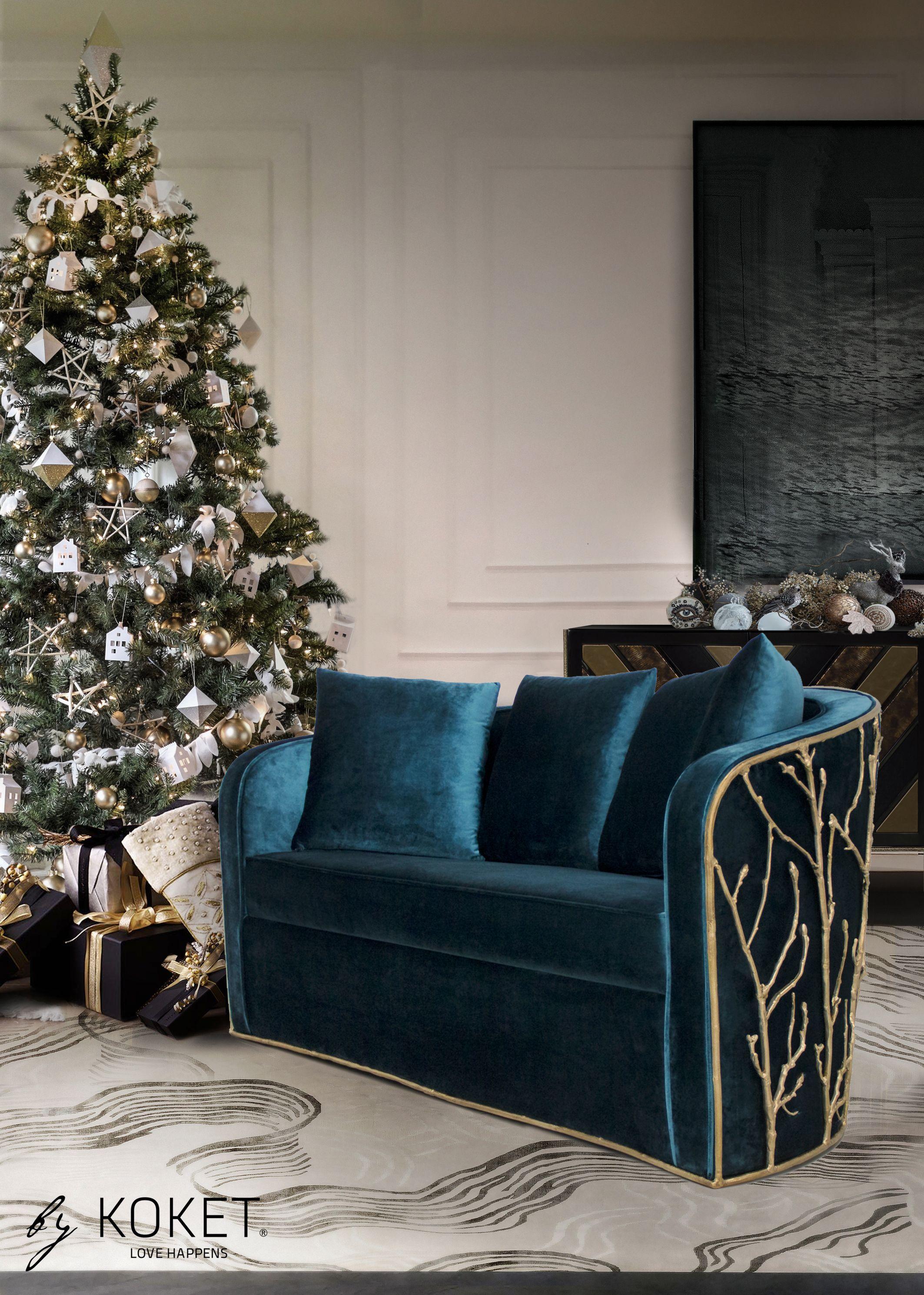 Enchanted Sofa Sofa Design By Koket Classic Blue Pantone Contemporary Decor Pantone 2020