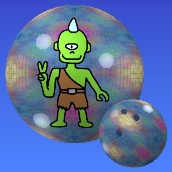 Cyclops Bowling Ball Monster Bowling Pinterest Bowling