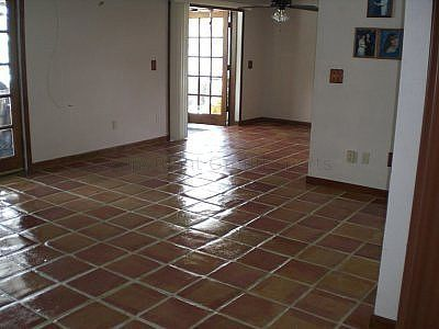 How To Refinish Old Mexican Tile Floors Future House Ideas