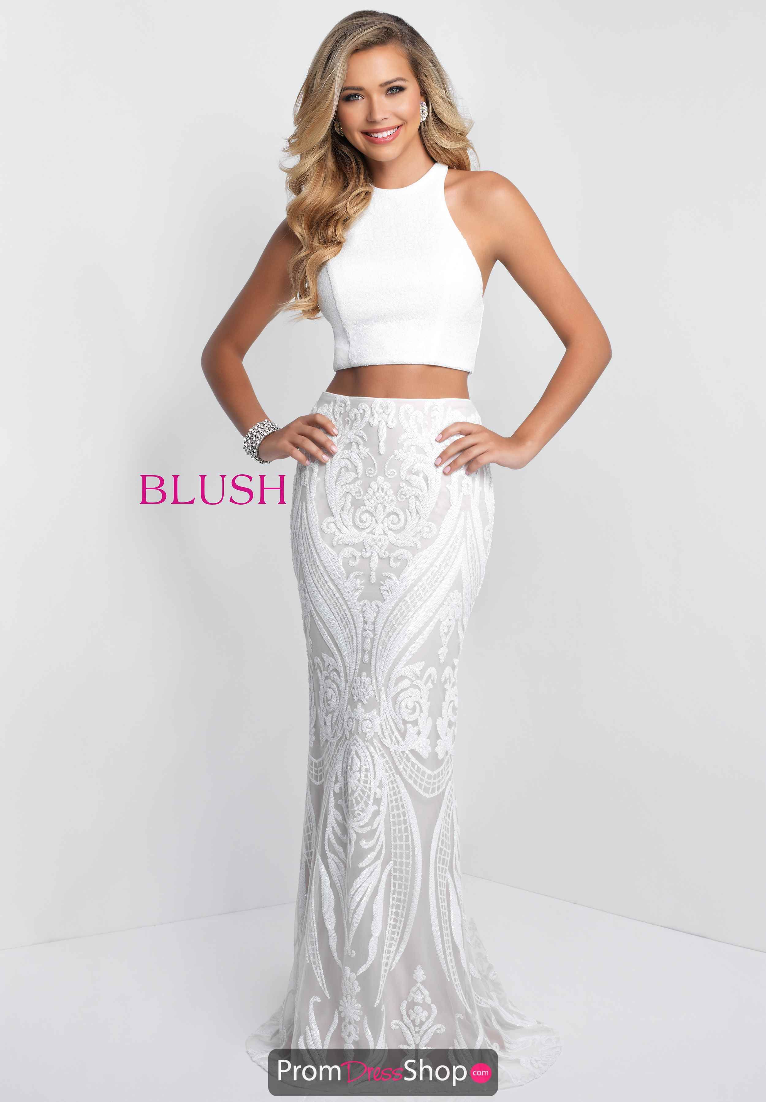 86e76ab7bb Blush Long Fitted Dress 11522 in 2019