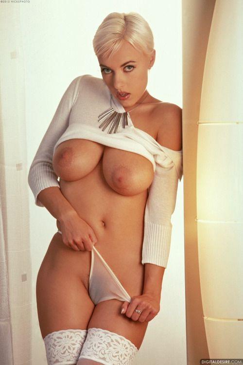 Big tits and short hair