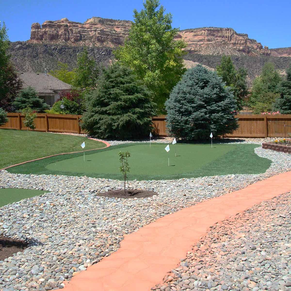 19 Crazy Cool Backyard Putting Greens in 2020   Backyard ...